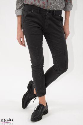 Jeans biker negru