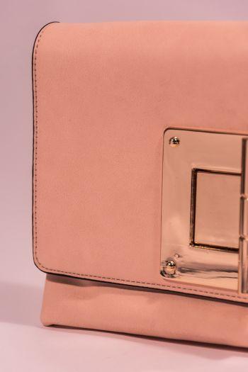 Poșetă plic roz Tom & Eva
