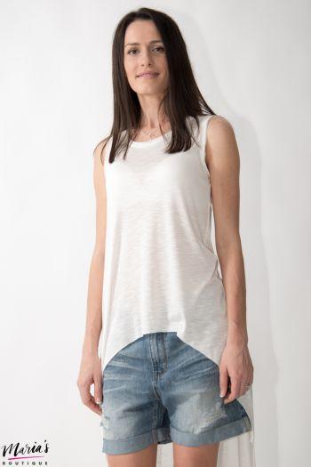 Top alb asimetric