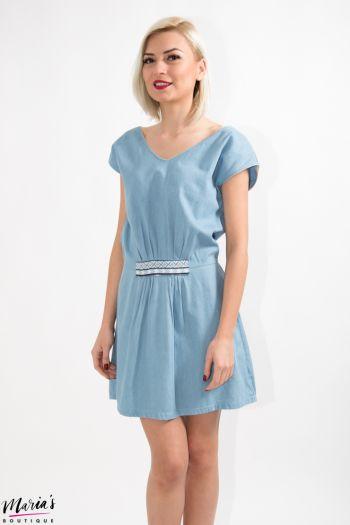 Rochie de zi albastră